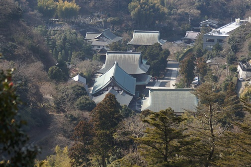20180224-06 半僧坊より建長寺