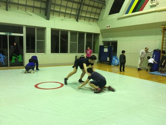 レスリング練習 002