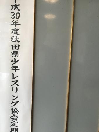 秋田県少年少女レスリング総会 023