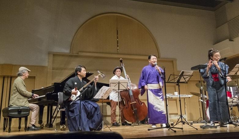 ジャズと津軽民謡の融合 縮小