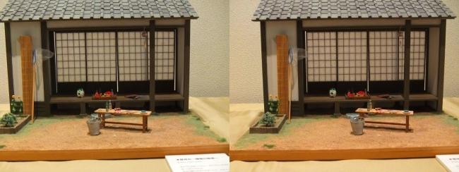 kinoe-ne 和風ミニチュア 夏休み 縁側の風景②(交差法)
