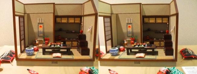 kinoe-ne 和風ミニチュア お正月の朝②(平行法)