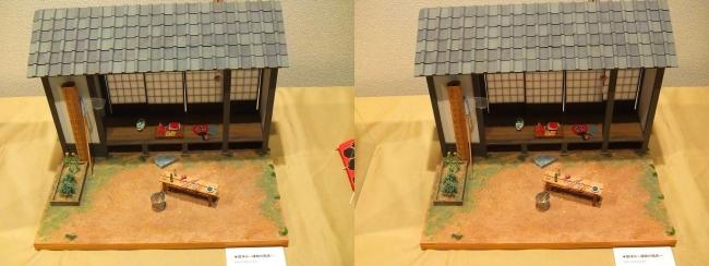 kinoe-ne 和風ミニチュア 夏休み 縁側の風景①(交差法)