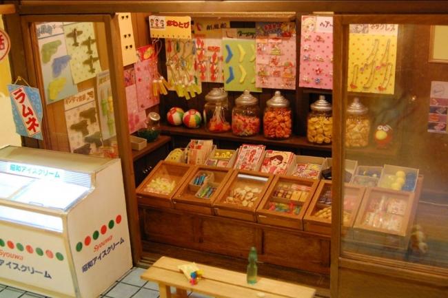 kinoe-ne ドールハウス 駄菓子屋 朝日商店③