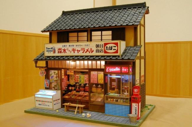 kinoe-ne ドールハウス 駄菓子屋 朝日商店①
