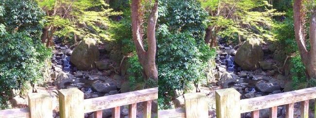 枚岡公園 椋ヶ根橋(平行法)