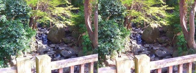 枚岡公園 椋ヶ根橋(交差法)