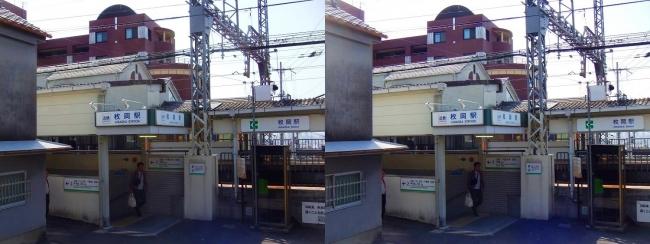近鉄 枚岡駅②(平行法)