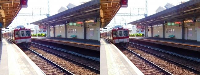 近鉄 枚岡駅①(交差法)