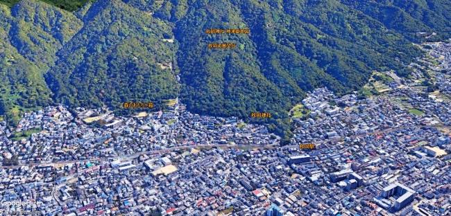 枚岡MAP