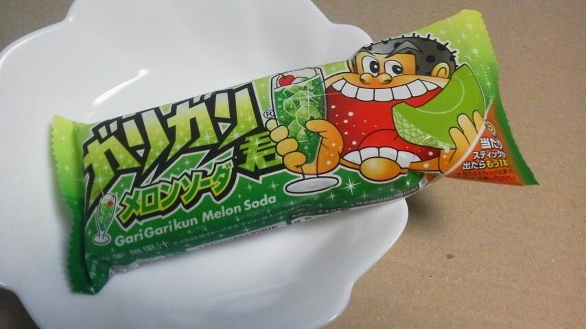 赤城乳業「ガリガリ君 メロンソーダ」