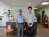 金子社長と香野先生