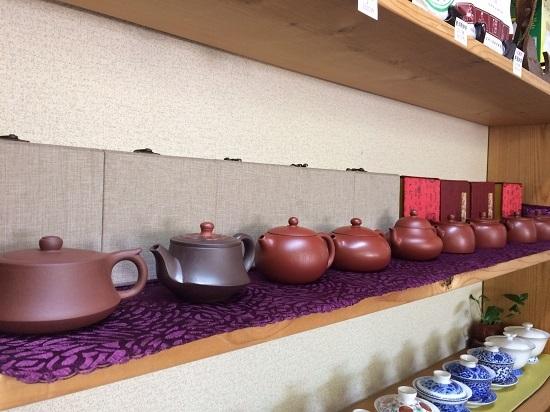若手作家さん茶壺