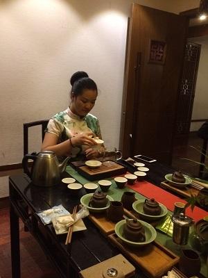 杭州茶芸館―3