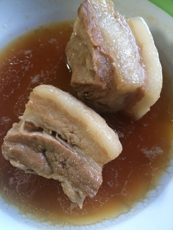 サンザーシ豚肉煮込み-2