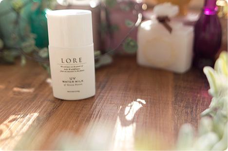 LORE(ローレ) UVウォーターミルク&UVエッセンスクリーム