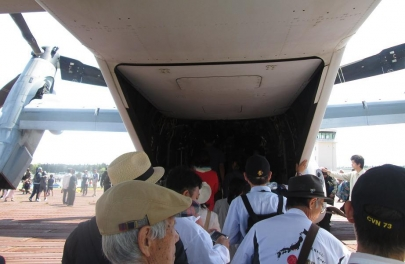 MV-22オスプレイ荷室カーゴベイBell Boeing V-22 Ospreyキャンプ富士フライトラインフェスティバル2018在日米軍2018 Camp Fuji Flightline Festivalフレンドシップ・フェスティバル2静岡県御殿場創価学会御殿場文化会館米軍海兵隊U.S. Forces Japan USFJ陸上自衛隊東富士演習場富士学校富士駐屯地滝ヶ原板妻駒門北富士
