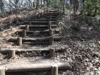 所々に階段あり