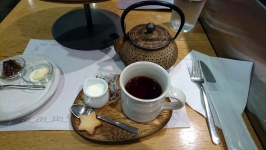 東京都中央区銀座のローズベーカリー(Rose Bakery)でハイティー♪
