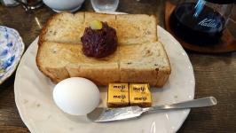 愛知県名古屋市の加藤珈琲店で大人気!小倉トーストモーニング♪