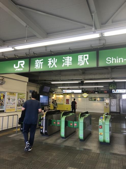 新秋津駅 JR武蔵野線