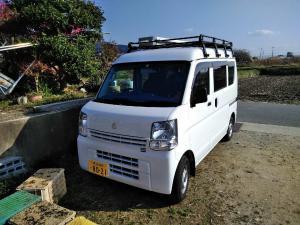 奈良 ハウスクリーニング 作業車