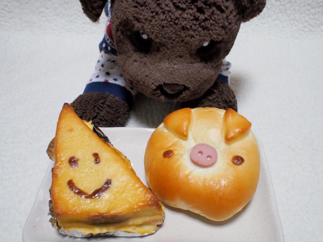 さんかくパンとブタパン
