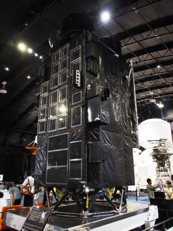 月周回衛星「かぐや」【JAXA 筑波宇宙センター】