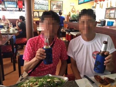 【FEB 2017】 パタヤ ソイ8 セーラーズバーレストラン5 (2)