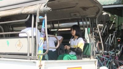 ヤンゴン ロンジー学生6 (4)