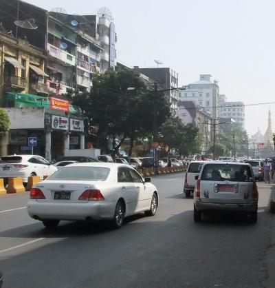 ヤンゴン市内1