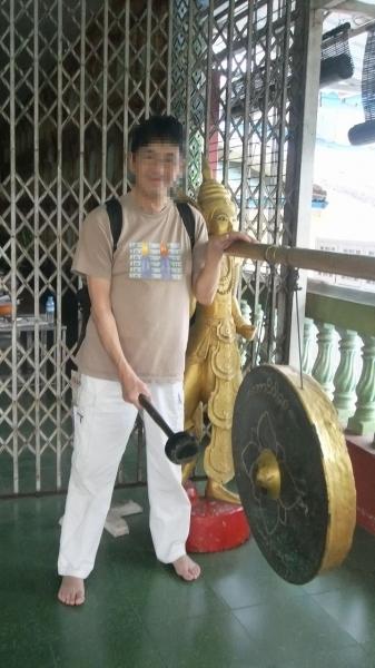ヤンゴン 涅槃像にて16