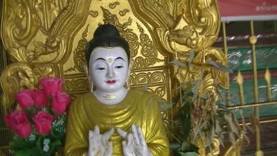 ヤンゴン 涅槃像にて21 (2)