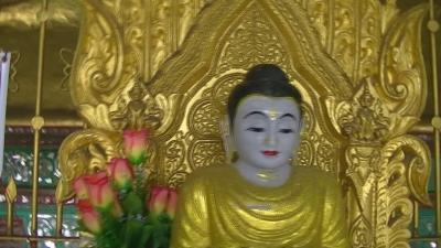 ヤンゴン 涅槃像にて21 (5)