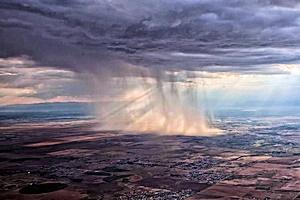 恐怖の集中豪雨