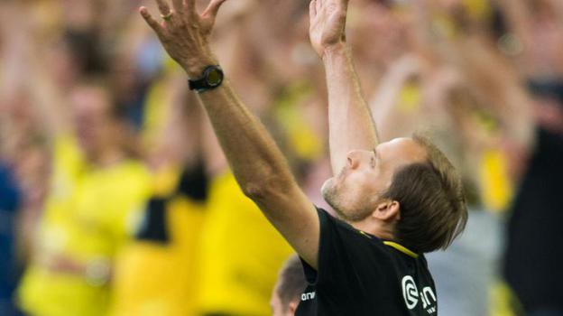Tuchel 4_0 Dortmund - Borussia Mönchengladbach