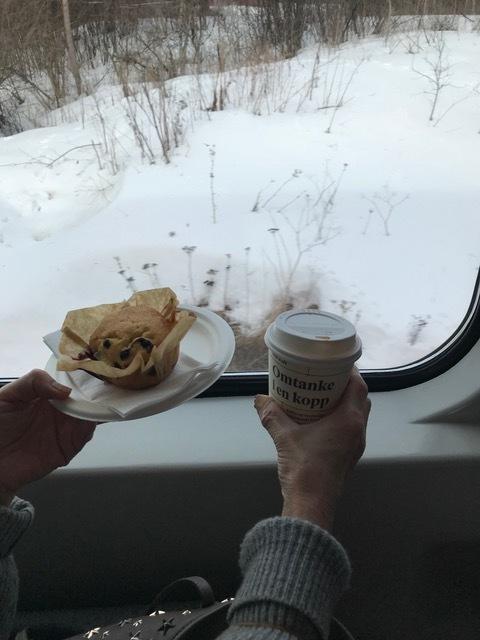 鉄道景色5コーヒー&マフィン