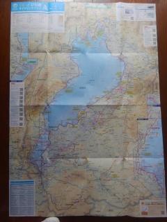 琵琶湖サイクリングマップ