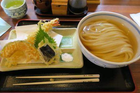 ひやかけと天ぷら