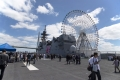 09_護衛艦かが【DDH-184】[一般公開・天保山(艦橋と観覧車)](20180520)