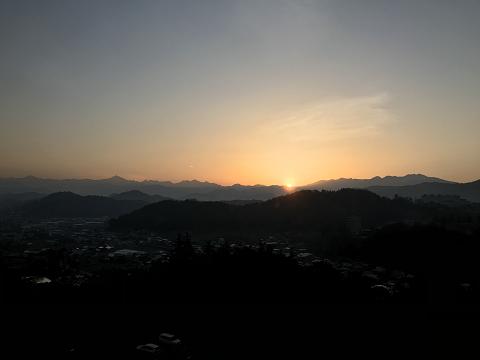 1363-乗鞍岳からの日の出