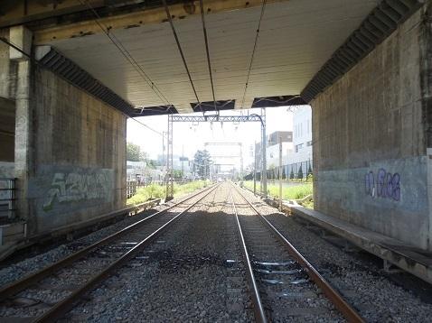 小田急江ノ島線の中央林間3号踏切@大和市e