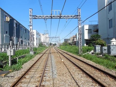 小田急江ノ島線の中央林間3号踏切@大和市d