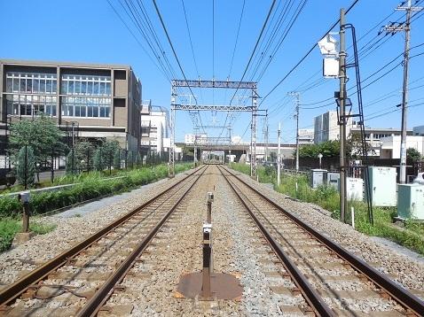 小田急江ノ島線の中央林間4号踏切@大和市d