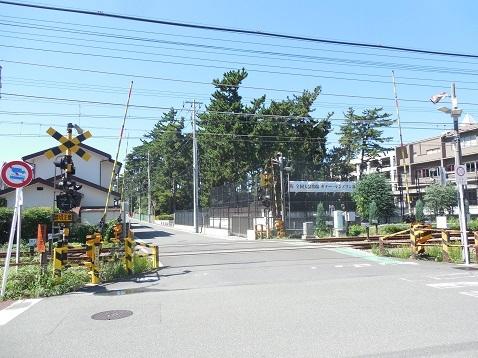 小田急江ノ島線の中央林間4号踏切@大和市a
