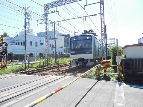 小田急江ノ島線の中央林間4号踏切@大和市g