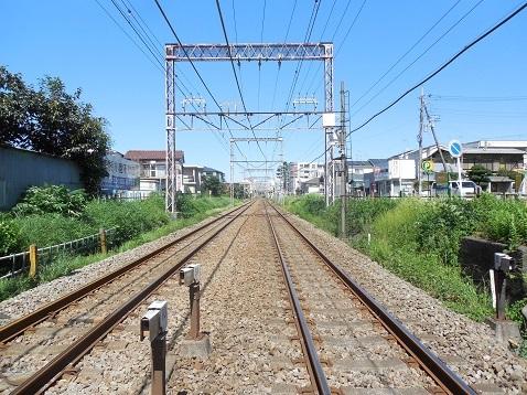 小田急江ノ島線の中央林間5号踏切@大和市d