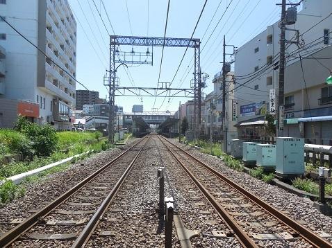 小田急江ノ島線の中央林間5号踏切@大和市e