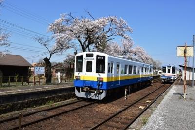 列車交換 黒子駅