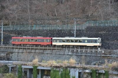 会津鉄道AT700形とAT650形